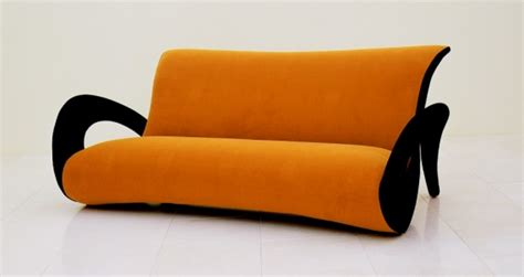 orange and black sofa orange black sofa contemporist