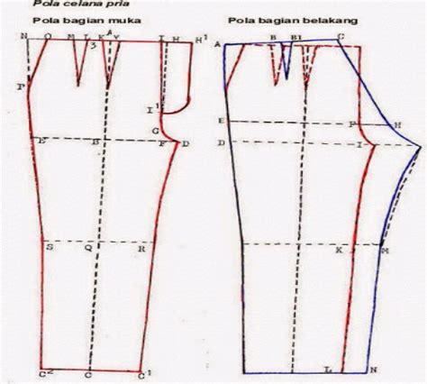 membuat pola celana panjang pria dengan mudah zona kreatif