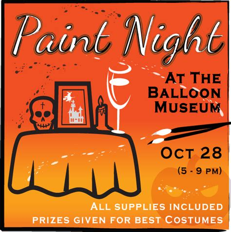 paint nite abq paint and boo luminaria glow at the albuquerque