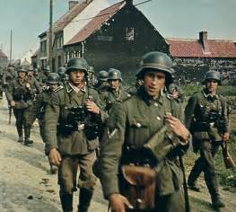 wwii in color belgium 1940 and the wehrmacht are on the rise german