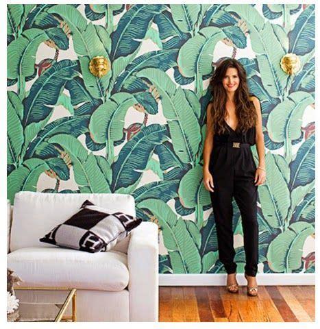 wallpaper martinique banana leaf martinique banana leaves wallpaper home decor