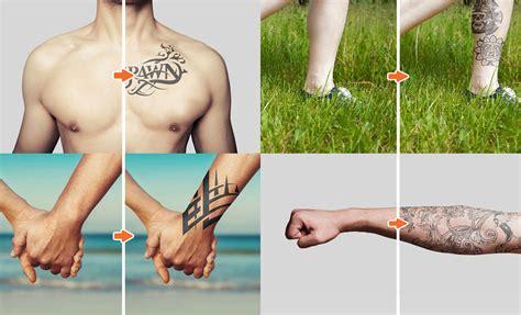 tattoo mockup photoshop templates pack go media tattoo mockup photoshop templates pack by go media
