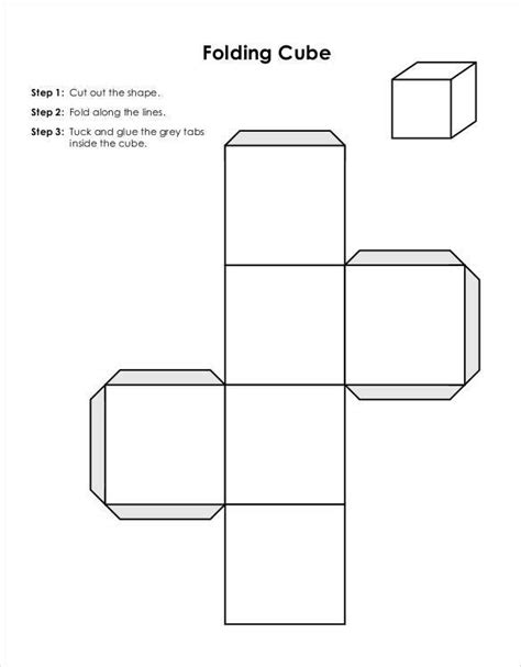 cuboid net template printable paper cube template 18 free word pdf documents free