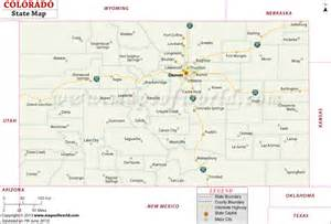 map od colorado colorado state map