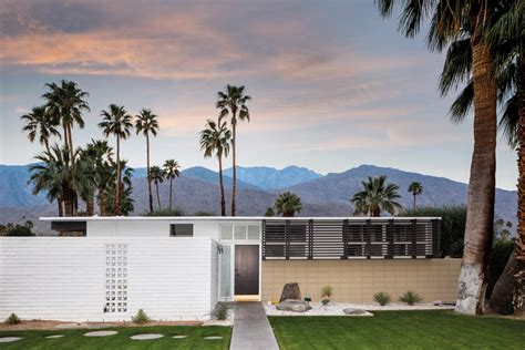 inside never before seen desert modern architecture in palm springs california ivyspace