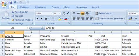 Etiketten Drucken Word 2013 Excel by Serienbrief Etiketten In Word 2007 Erstellen Cammablog