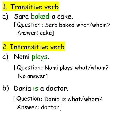 subject intransitive verb pattern exles ilm o amal elearning portal register
