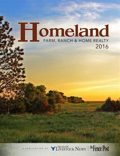 2016 homeland farm ranch home real estate tsln