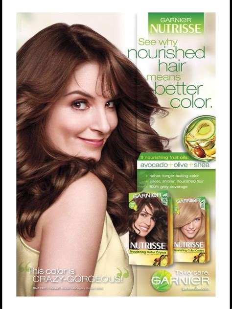 garnier hair color that tina faye 1000 images about haircare advertising on pinterest