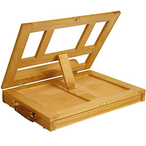 Table Easel With Drawer by Portable Table Easel Wooden Storage Drawer Painting
