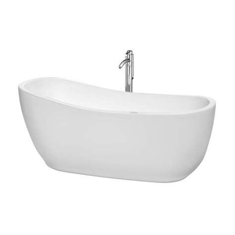wyndham collection bathtub wyndham collection margaret freestanding bathtub