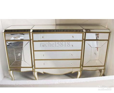 gold mirrored bedroom furniture 2018 mr 401053 mirrored furniture with antique gold finish