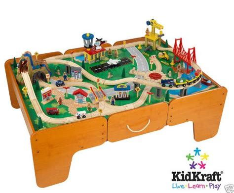 train table with drawers toys r us wood train tables train tables