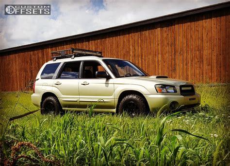 custom lifted subaru 2004 subaru forester method mr502 subaru lifted