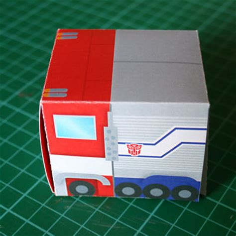 How To Make Optimus Prime Out Of Paper - transformers optimus prime paper