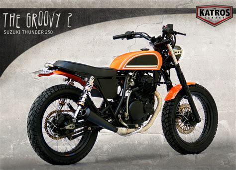 Suzuki Thunder 250 The Katros Groovy 2 The H D Themed Suzuki Thunder