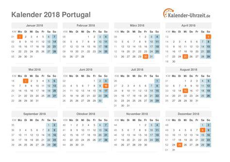 Portugal Kalender 2018 Feiertage 2018 Portugal Kalender 220 Bersicht