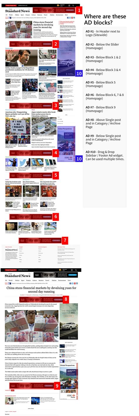 newspaper theme blocks standardnews newspaper wordpress theme magazine3