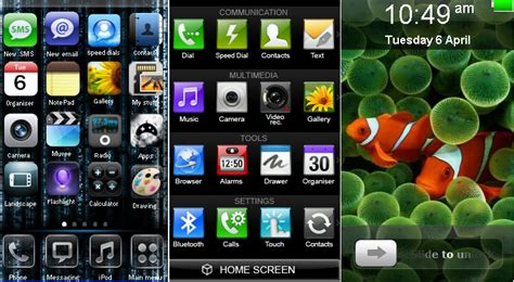 themes iphone java lg cookie kp500 iphone theme java or basic phone