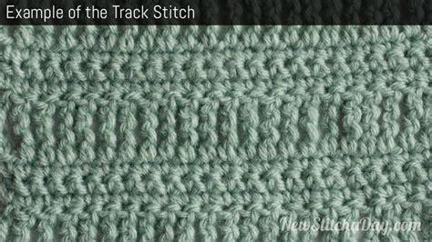 How To Crochet Tracks | the track stitch crochet stitch 50