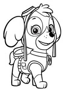 Paw patrol sky coloring pages free printable math worksheets mibb