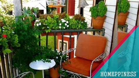 25 inspiring small balcony garden ideas for small