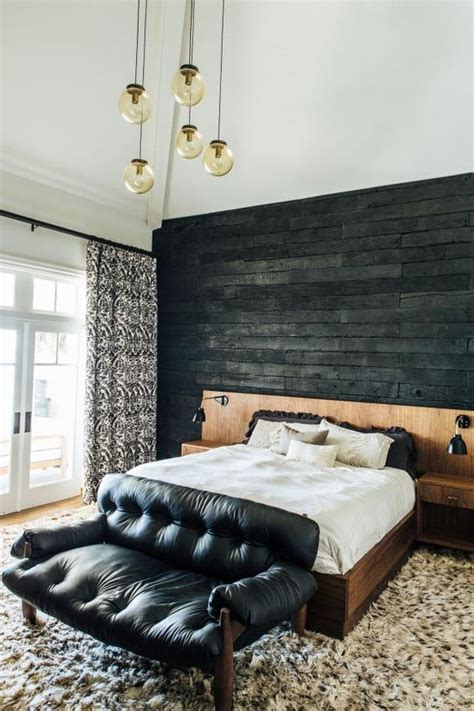 cool walls for a bedroom 30 wood accent walls to make every space cozier digsdigs