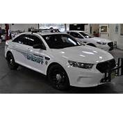 County Sheriffs Office Patrol Car Similar To A Civilian Ford Taurus