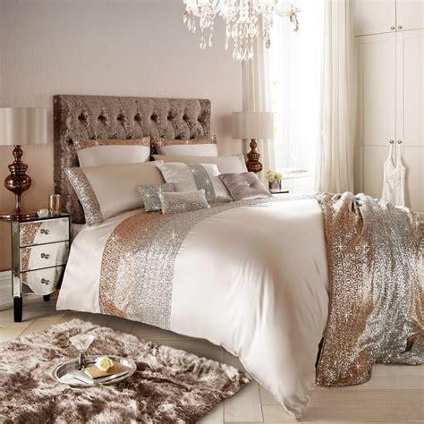 kylie minogue mezzano rose gold super king duvet cover uk home decor november  trends