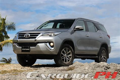 2016 toyota fortuner the complete philippine specs