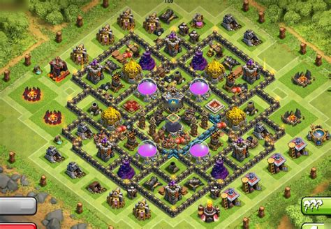 th9 home base layout coc th9 farming base quotes