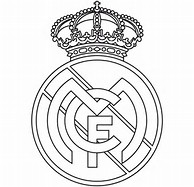 Real Madrid Coloring Pages