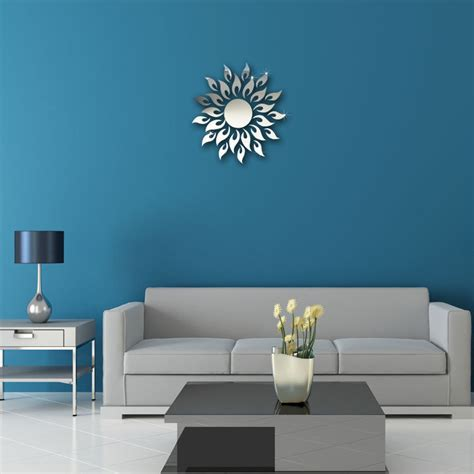 modern wall stickers for living room 2016 new special offer acrylic 3d diy mirror wall stickers