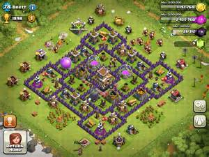 Coc Level 9 War Bases » Home Design 2017