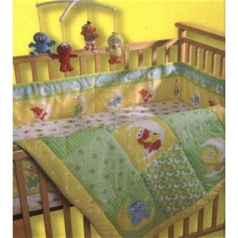 family sesame crib bedding a