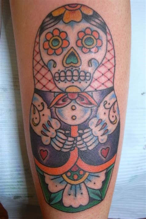 dolls tattoo skull doll tattoos