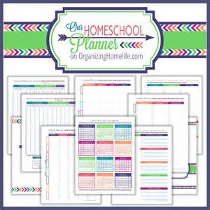 Photos of Free Homeschool Planner