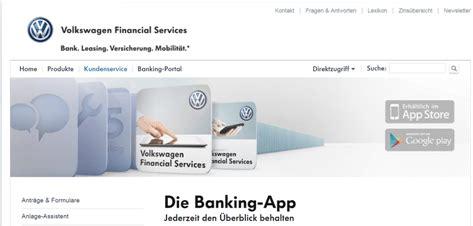 vw bank telefon banking volkswagen bank telefon banking fahr galerie