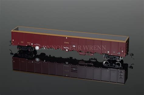 Wsu Mba Comparison by Bachmann Model Railways Mba Megabox Ews Wagon W O Buffers