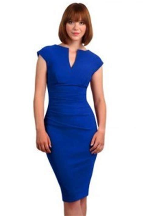 blauwe overhemd jurk kobalt blauwe jurk