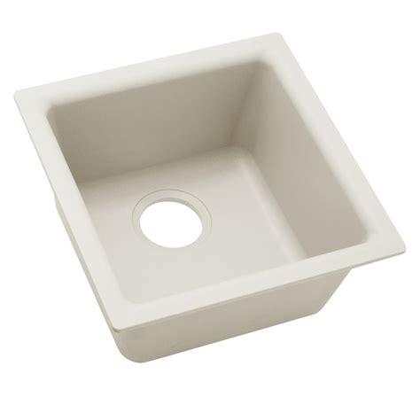 home depot bar sink elkay premium quartz drop in undermount composite 16 in
