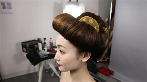 100 years hairstyle images bts of 100 years of beauty japan mei hair hairstyle