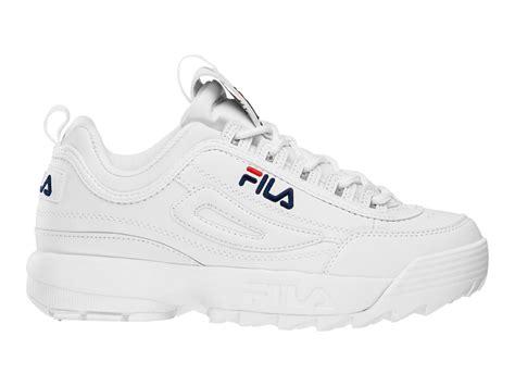 Sepatu Fila Heritage fila sneaker disruptor low 00014201479839 white