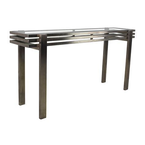 metal and glass sofa table 63 metal and glass side table tables