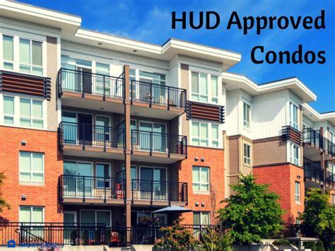 hud approved condos