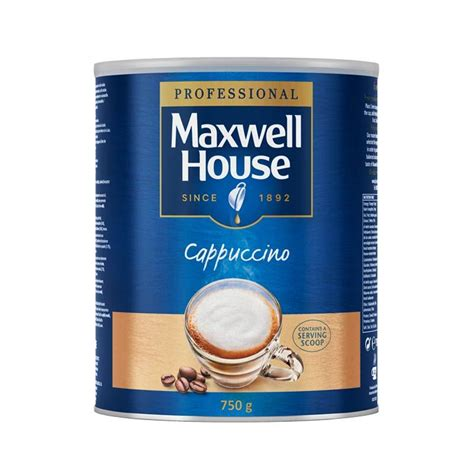 Powder Cappucino maxwell house cappuccino instant coffee powder 1 x 750g