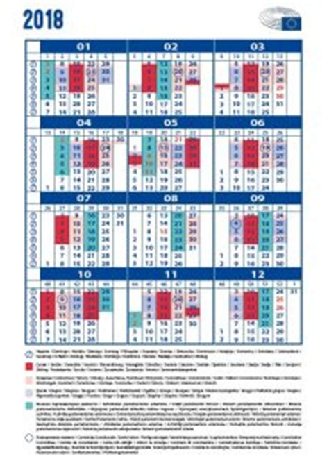 Calendrier 2018 European Parliament European Parliament Calendar Petras Auštrevičius