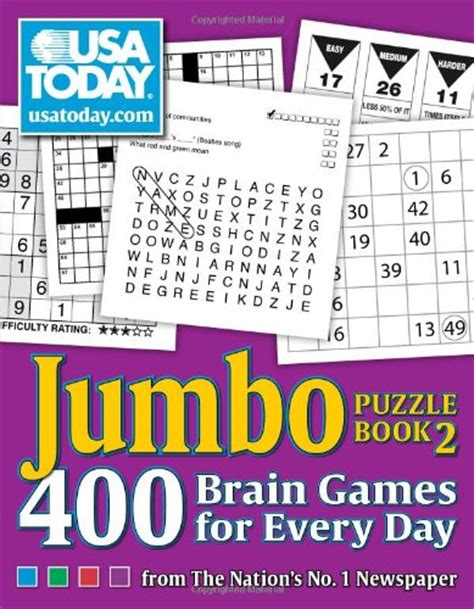 usa today crossword january 2 2015 fitness for brain body balance usa today jumbo puzzle