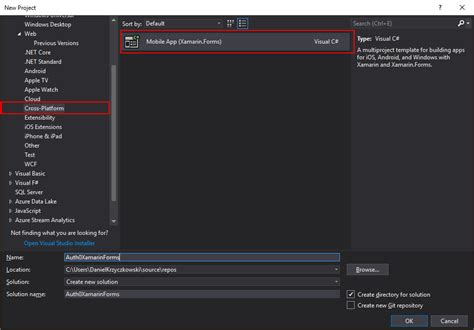 Developing Mobile Apps With Xamarin Forms And Azure Functions Xamarin Forms Templates