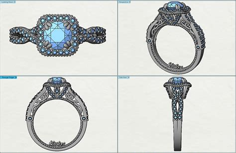 Drawing O Ring Solidworks by Kesslers Diamonds Custom Jewelry Unique Jewelry Design
